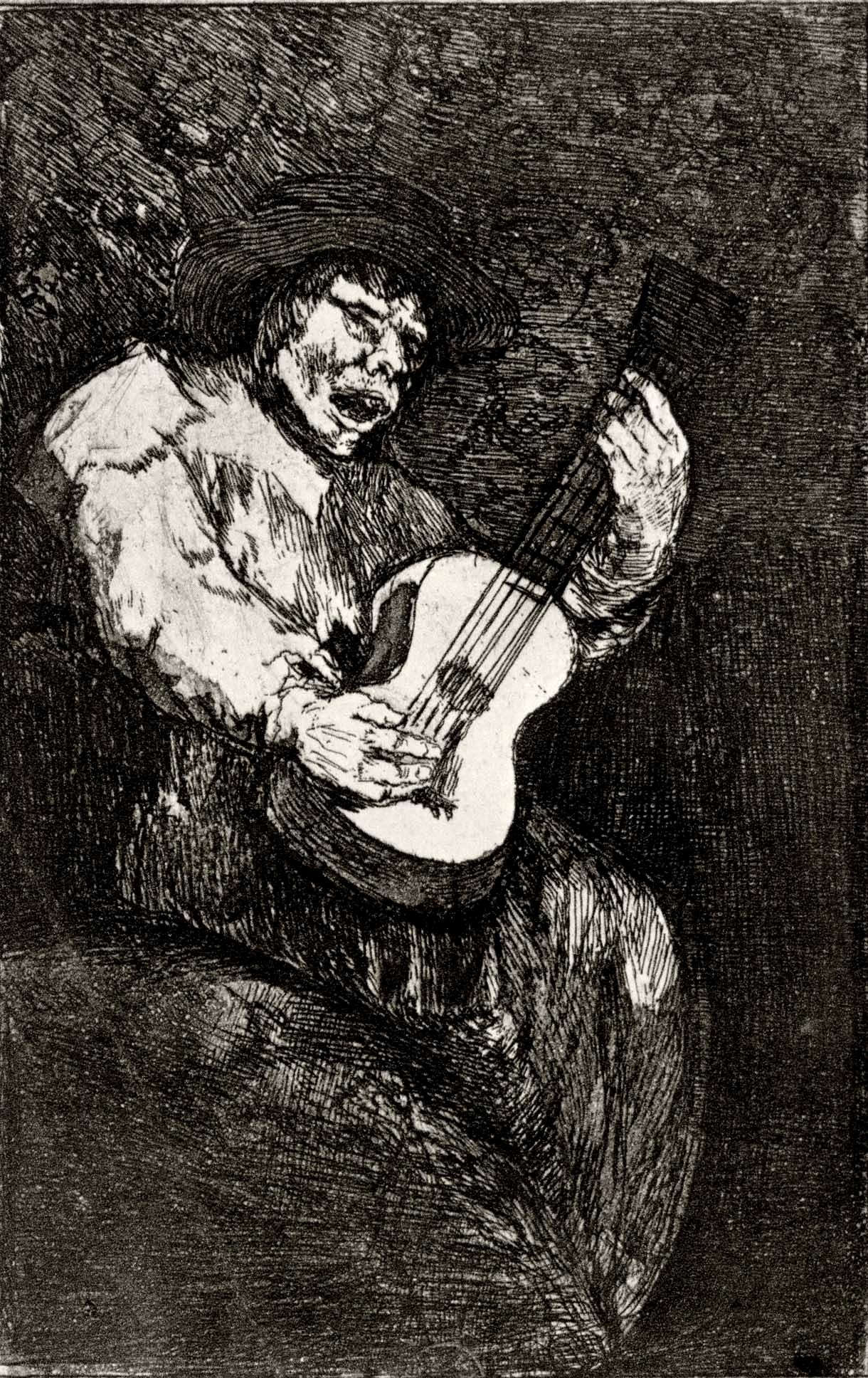 El cantor ciego