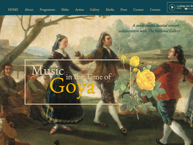 New website for 'Music in the Time of Goya' launched