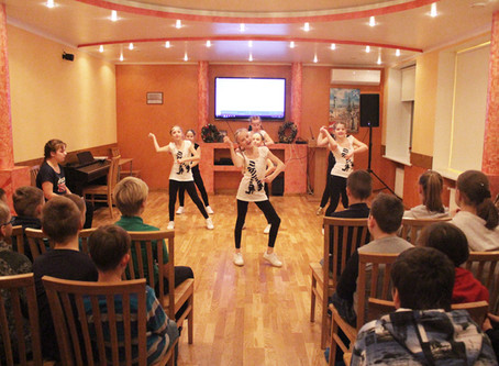 Bērnu dejošanas kolektīva O*key uzstāšanās