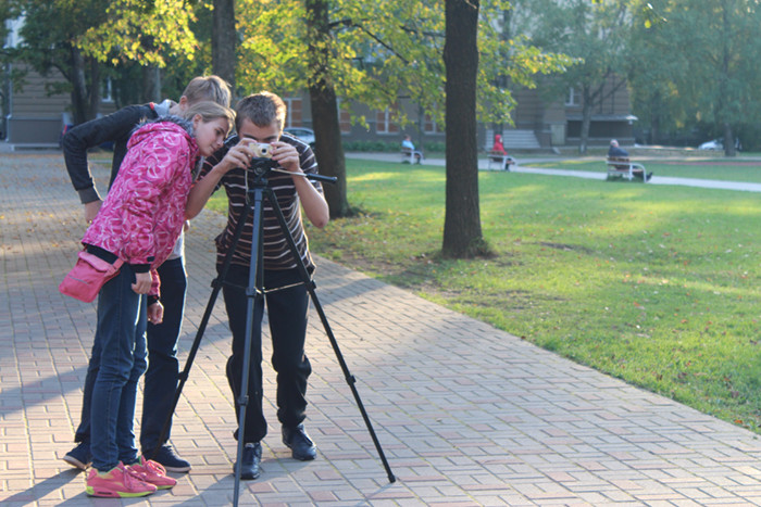 Fotopulciņa uzdevumu veicot