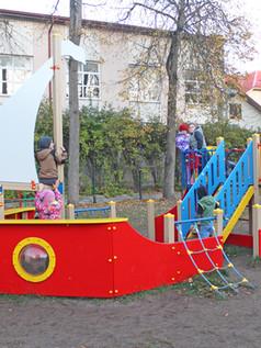 Rotaļu laukumā