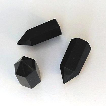 Obsidienne noire Pointe