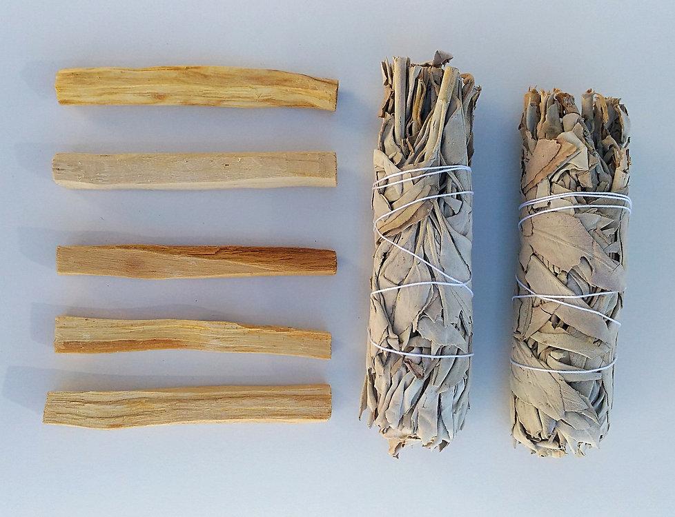 palo santo purification et fumigation, palo santo bâtons