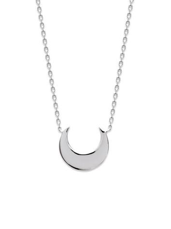 collier lune argent 925