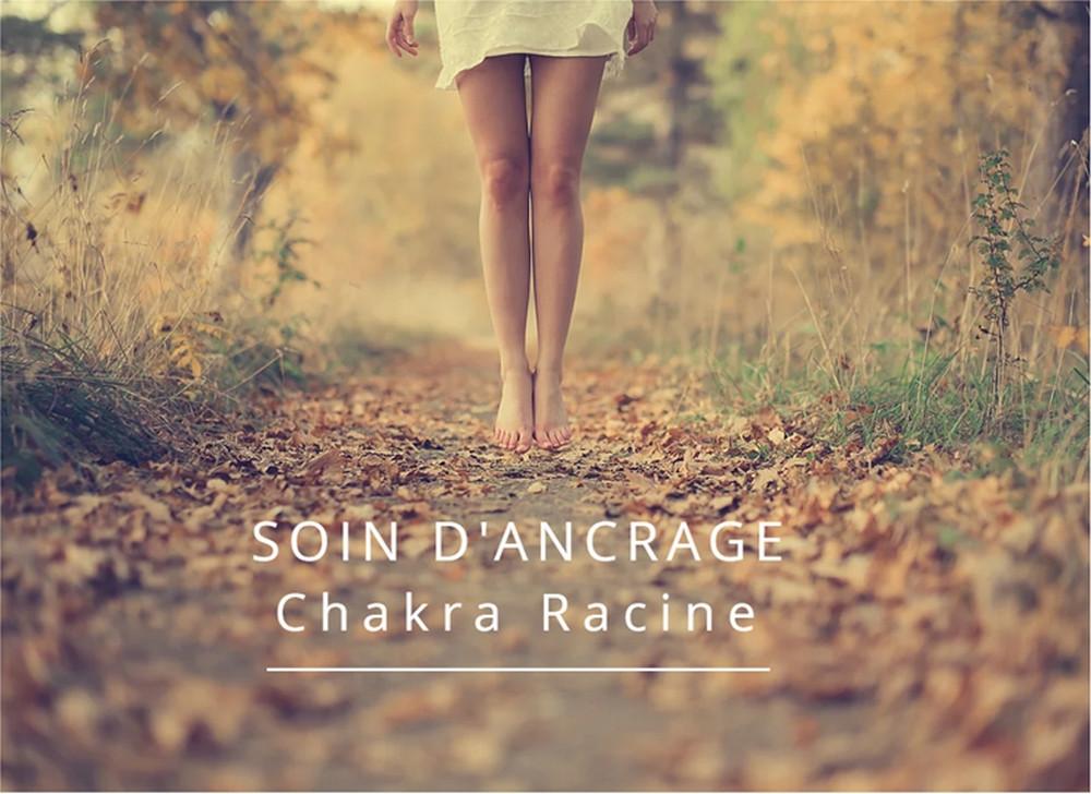débloquer le chakra racine. soin d'ancrage chakra racine. mémoire transgénérationnelle.