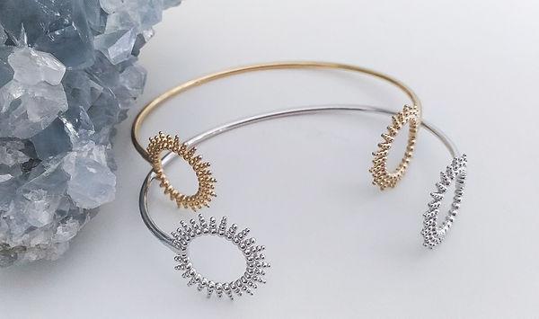 bracelet soleil en argent, bracelet soleil argent 925 rhodié