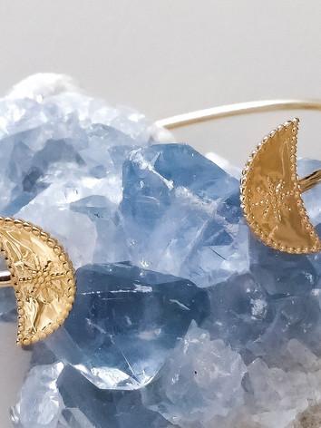bracelet lune et soleil