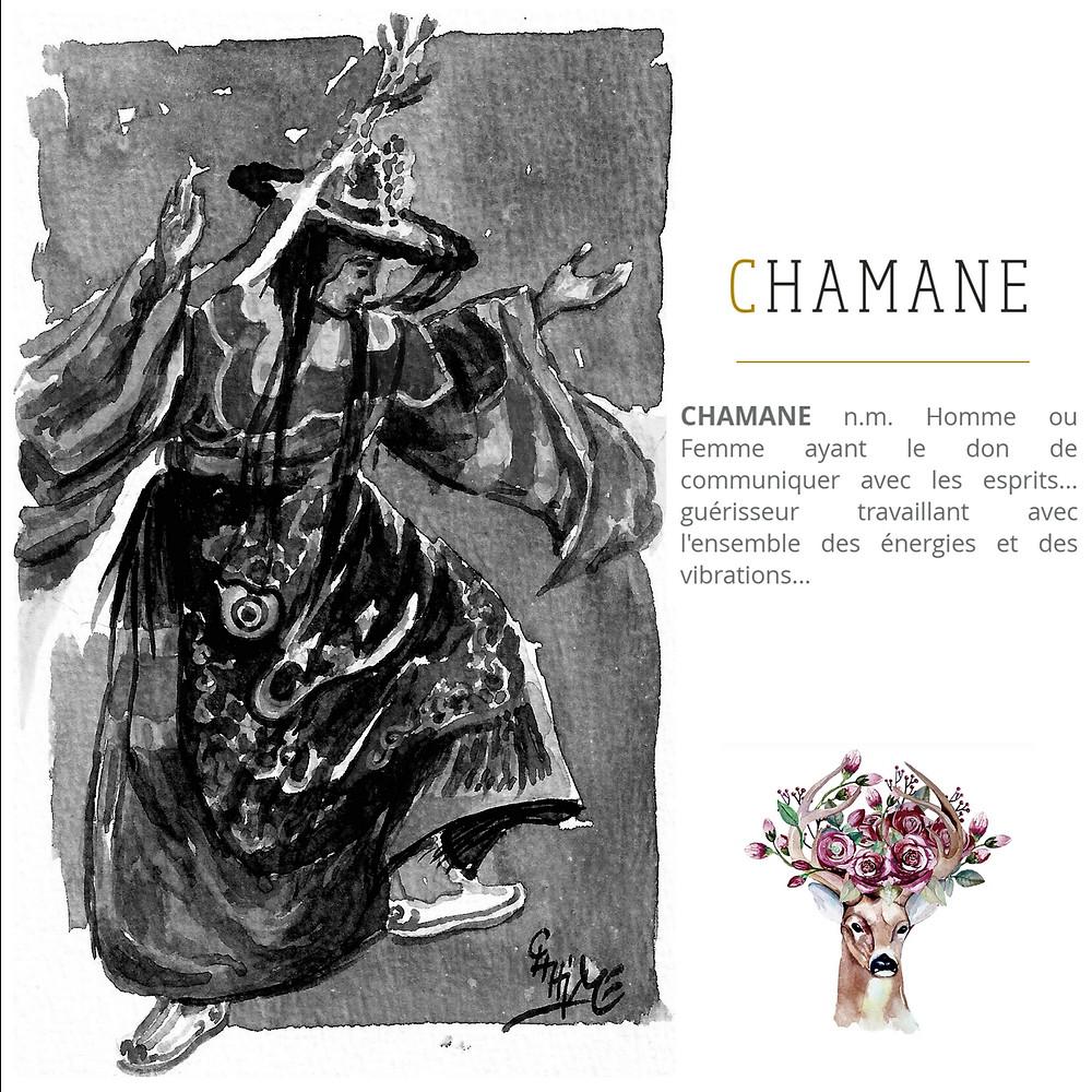 Chamane karmique. Chamane. Technique chamanique. Pratique chamanique. Soin chamanique. Recouvrement d'âme.