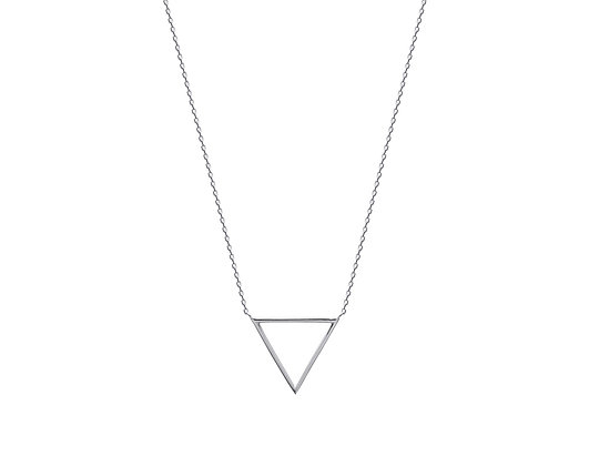 Collier triangle argent 925