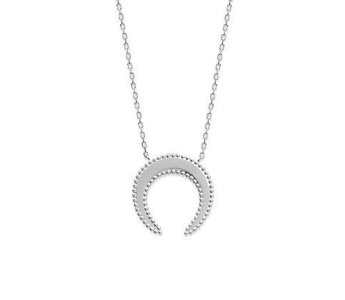 Collier lune argent 925 N°3