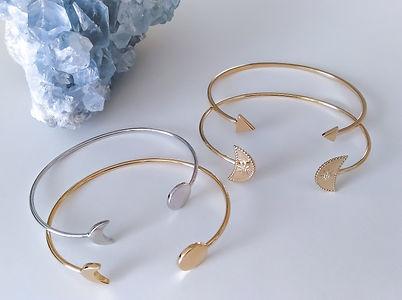 bracelet minimaliste, bracelet minimaliste argent 925, bracelet minimaliste plaqué or