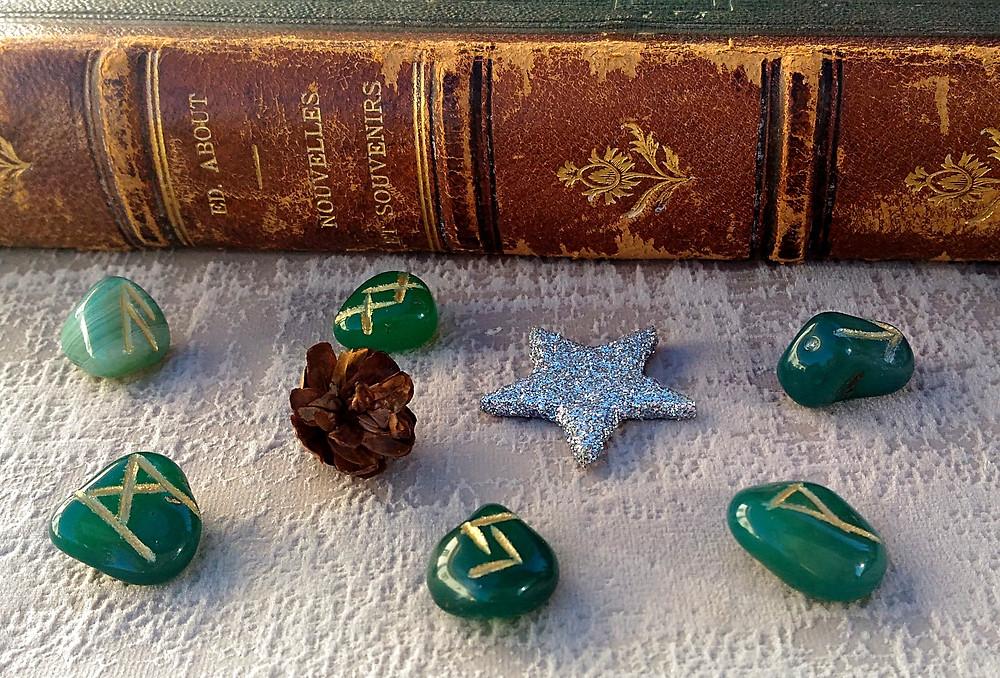 tirage de runes.