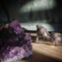 Les pierres du chakra coronal, et du chakra couronne pour lithothérapie.