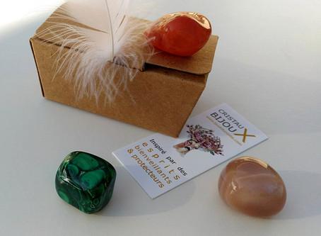 Féminin sacré & pierres
