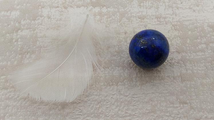 Lapis lazuli sphère polie