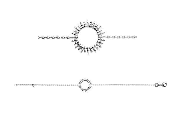 Bracelet soleil argent 925 n°1