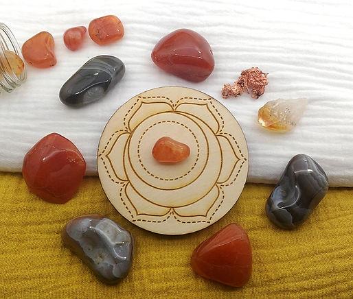 agate vertus de la pierre en lithothérapie. Propriétés de l'agate, chakra sacré.