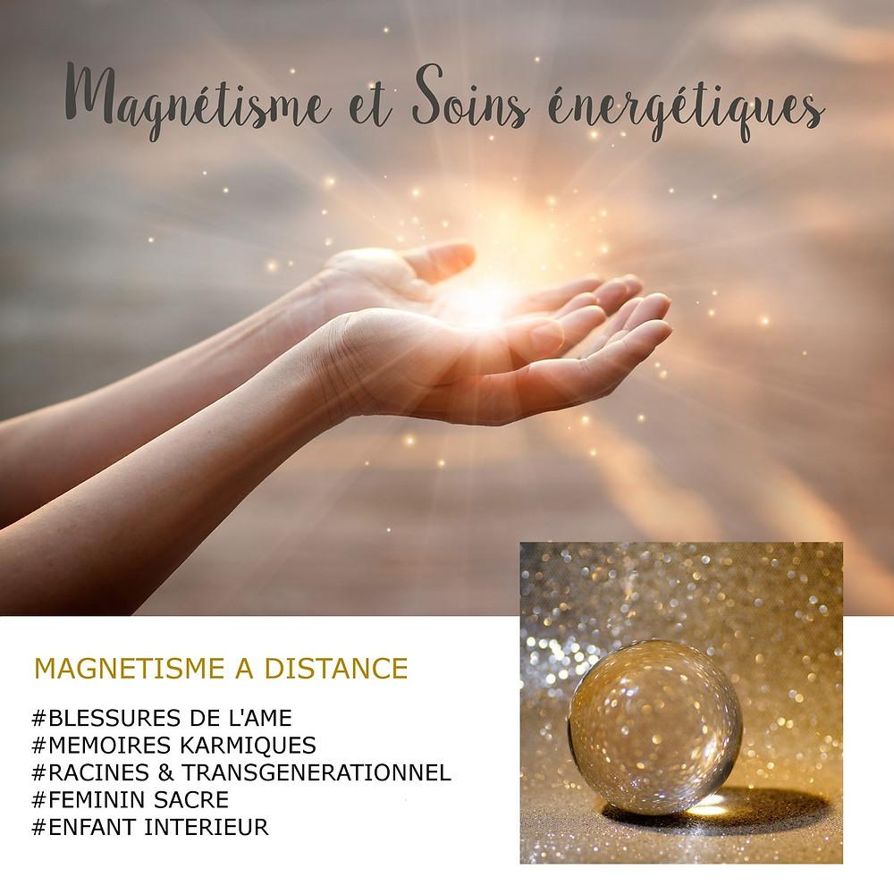 magnétisme à distance, soin énergétique à distance, magnétiseuse, énergéticien