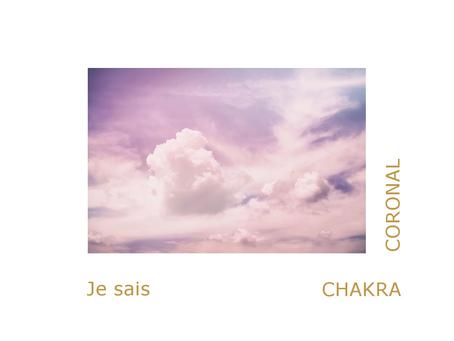 Chakra Couronne et conscience de l'âme