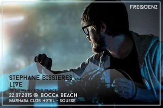 bunq live @ bocca beach, Tunisia 22.07.2015