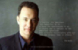 Quote by Tom Hanks on being an Orthodox Christian