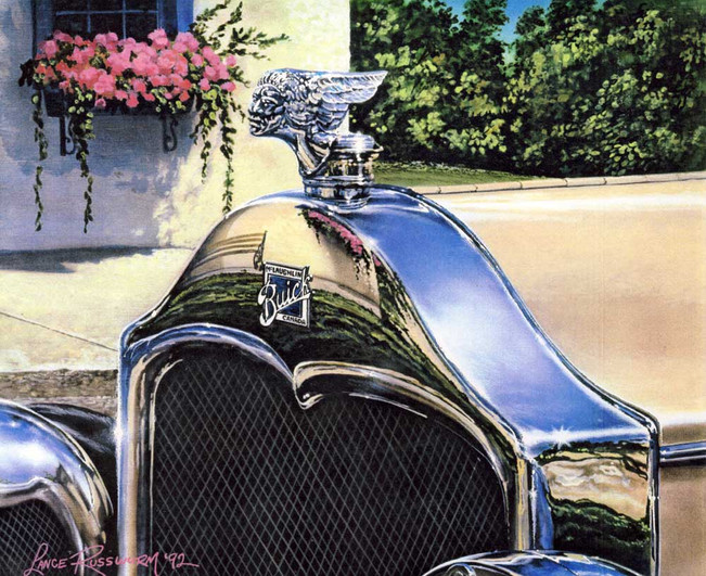 McLaughlin-Buick -1992 - acrylic on panel
