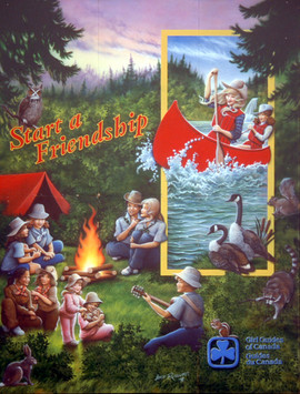 Girl Guides Canada Mural