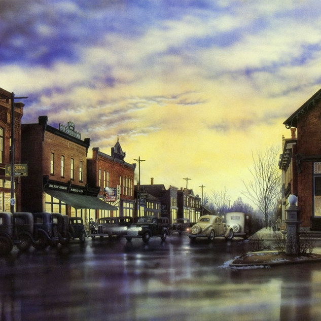 TAVISTOCK - 1930s - 1998, acrylic on canvas