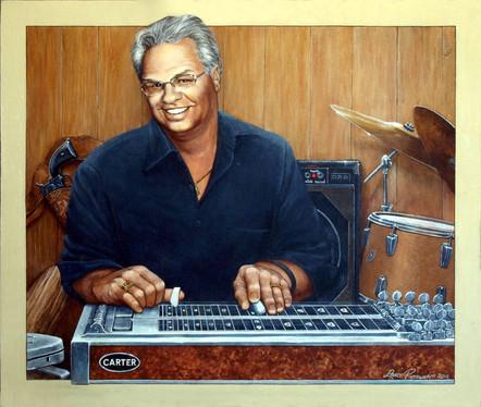 Doug - 2011, acrylic on canvas board.