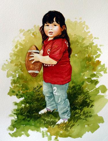 Savannah then - 2020, watercolour on paper