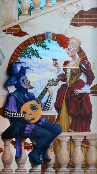 THE LADY and the JESTER