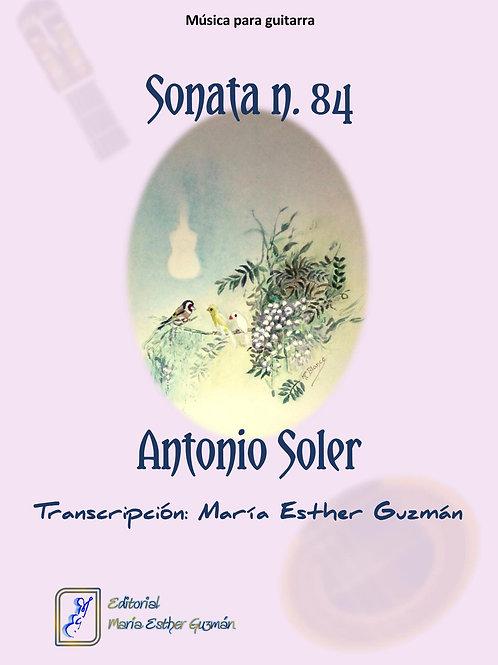 "Soler, A. (Tr. M.E.Guzmán)    ""Sonata n. 84"""