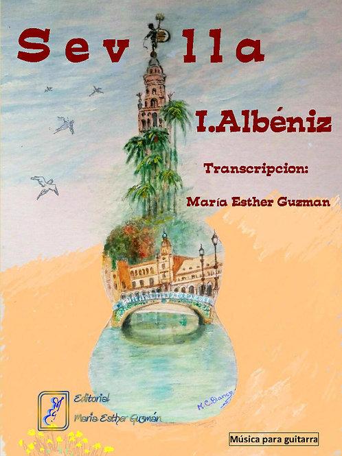 """Albéniz, I. (Tr. M.E.Guzmán)    """"Sevilla"""""""