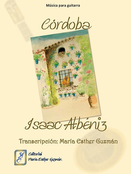 "Albéniz, I. (Tr. M.E.Guzmán)  ""Córdoba"""