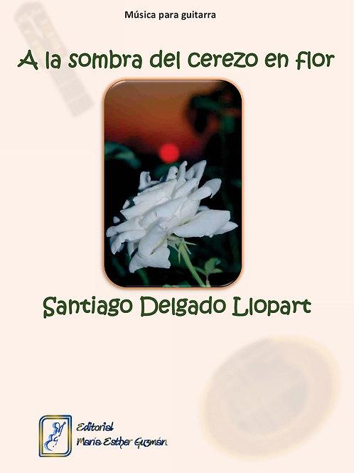 """Delgado Llopart, S. """"A la sombra del cerezo en flor"""""""