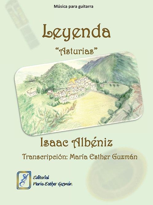 """Albéniz, I. (Tr.M.E.Guzmán)  """"Leyenda"""""""