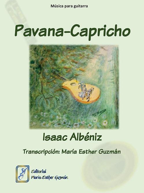 """Albéniz, I. (Tr. M.E.Guzmán) """"Pavana-Capricho"""""""