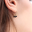Thumbnail: Mini Créoles Lola 3 pierres