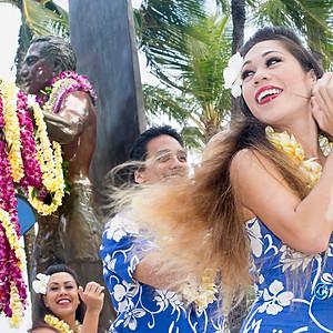 Duke's Ocean Fest Opening Ceremony