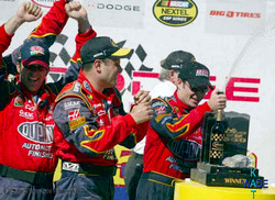 SF CHRONICLE NASCAR 09AA