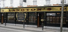 Langtons Kilkenny's most famous place to eat and drink, less that 10min drive from The Gables and Longbowe