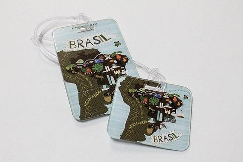 Combo Mapa do Brasil