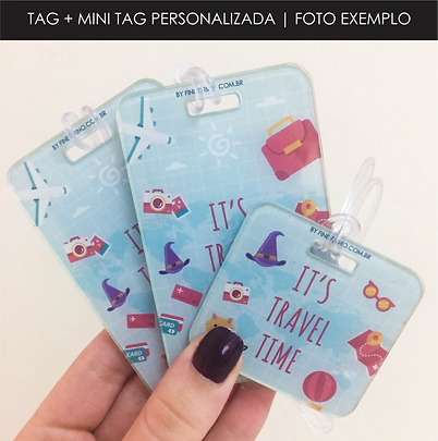 Tag + Mini Tag Personalizadas