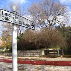 O museu Calouste Gulbenkian em Lisboa