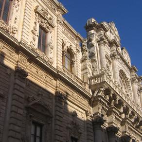 Um dia em Lecce, sul da Itália