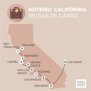 Roteiro pela Califórnia em 18 dias