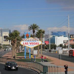 Ônibus de turismo em Las Vegas