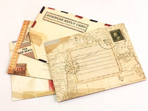 Envelope Vintage para Tag
