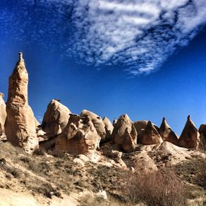 Chaminés de Fadas e o Vale de Dervent na Capadócia