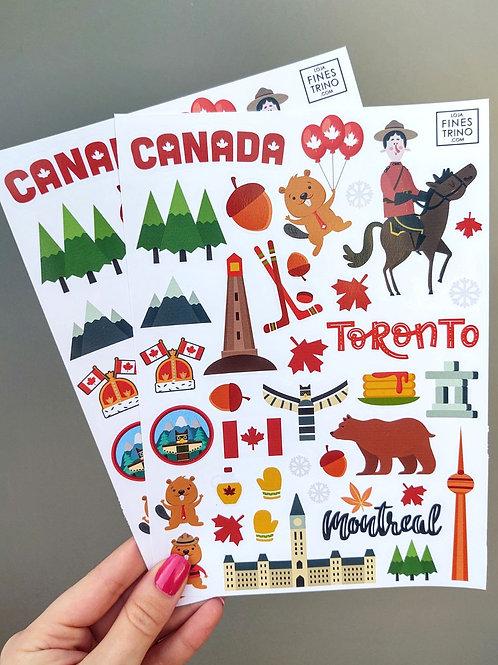 Cartela Canadá
